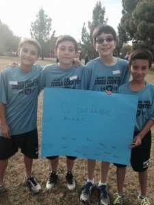 5th and 6th grade boys cross country